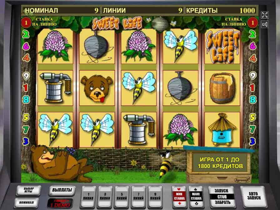 Игровой автомат свит лайф